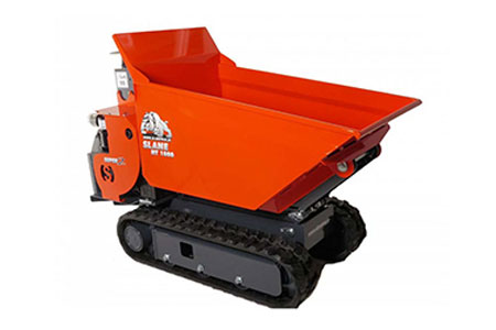 0.5 tonne tracked skiploader hire