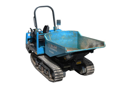 1.5 tonne tracked dumper hire