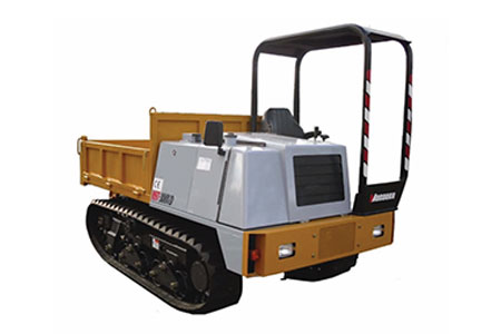 3 tonne tracked dumper hire