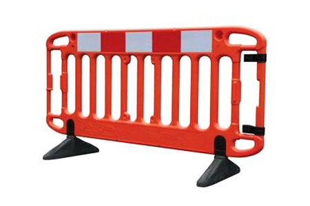 Pedestrian site barrier hire