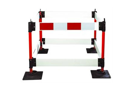 Road work safety barrier hire