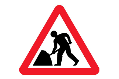 Road work sign hire