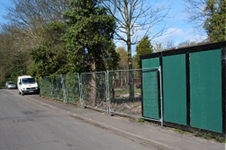 Temporary Security Fencing hire